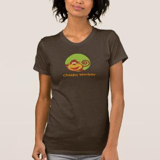 T-shirt Chose sauvage - chemise - singe effronté