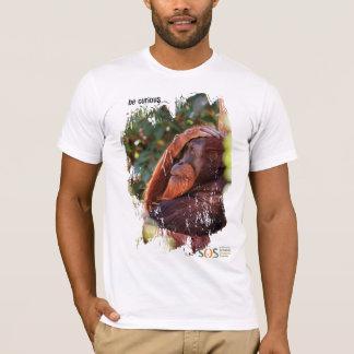 T-shirt Choses sauvages/T-shirt de société orang-outan de