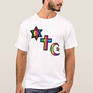 T-shirt - Chrétien - islamique juif