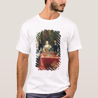 T-shirt Christina de la Suède et de sa cour : détail de