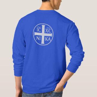 T-shirt Christogram ICXC NIKA Jésus conquiert