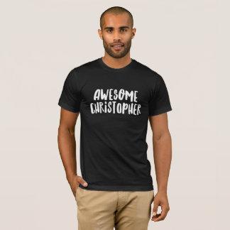 T-shirt Christopher impressionnant