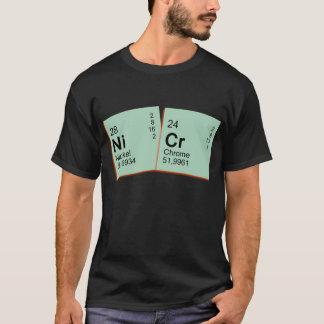 T-shirt chrome de nickel