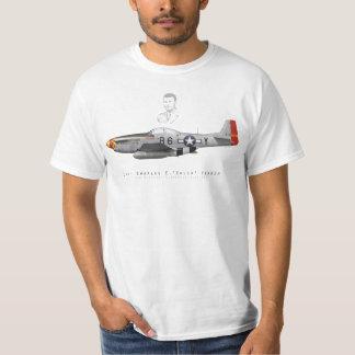 "T-shirt Chuck Yeager's P-51 Mustang ""Glamorous Glen III"""