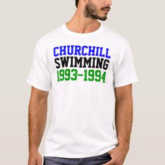 T-shirt Churchill nageant 1993