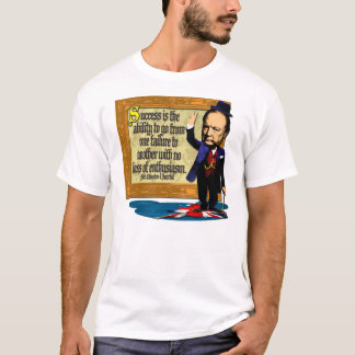 T-shirt Churchill sur le succès