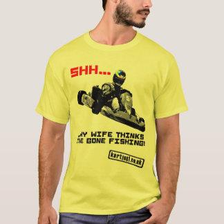 T-shirt Chut… Mon épouse pense que j'ai la pêche allée
