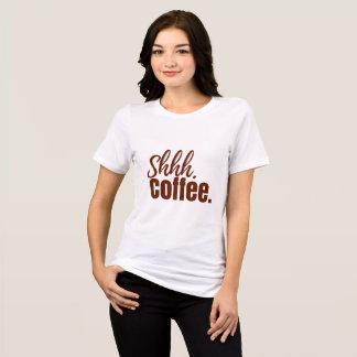 T-shirt Chut pièce en t de café