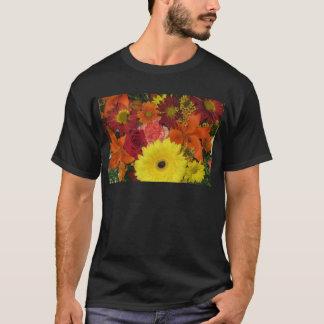 T-shirt Chute florale