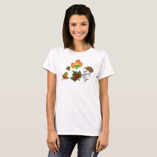 T-shirt Chute pour vous groupe de pièce en t de feuille