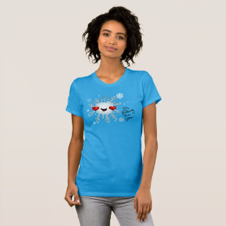 T-shirt Chute pour vous pièce en t de flocon de neige