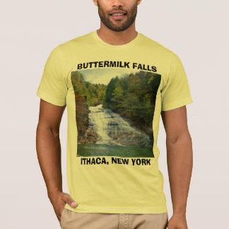 T-shirt CHUTES de BABEURRE, pièce en t d'ITHACA, NEW YORK