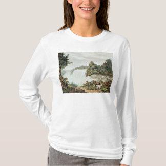 T-shirt Chutes du Niagara, d'île de chèvre