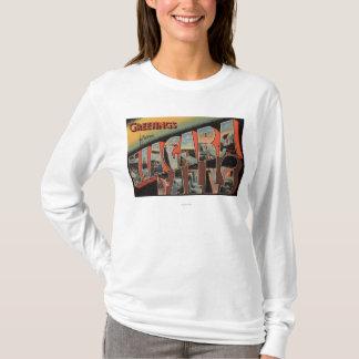 T-shirt Chutes du Niagara, New York - grandes scènes de