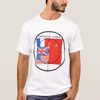 T-shirt Cible de Checkpoint Charlie