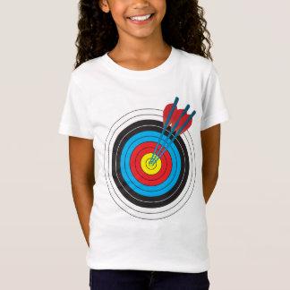 T-Shirt Cible de tir à l'arc avec des flèches