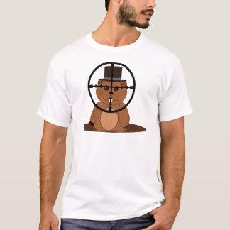 T-shirt Cible : groundhog