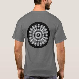 T-shirt Cible psychédélique de sphères