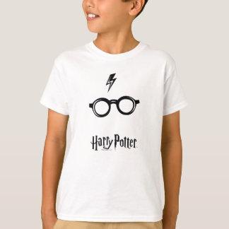 T-shirt Cicatrice et verres de foudre du charme | de Harry
