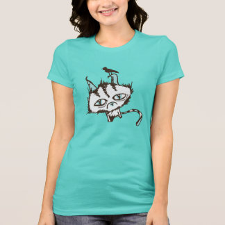 T-shirt Ciel turquoise Kitty