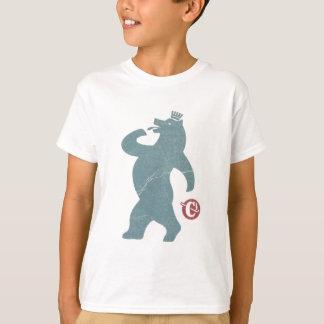 T-shirt Cigarettes de bleu d'ours