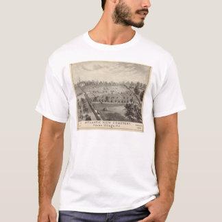 T-shirt Cimetière atlantique de vue, village de Squan, NJ