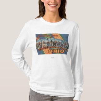 T-shirt Cincinnati, Ohio - grandes scènes 2 de lettre