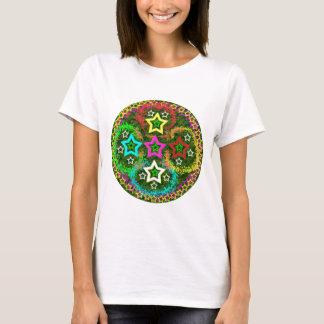 T-shirt Cinq étoiles colorées