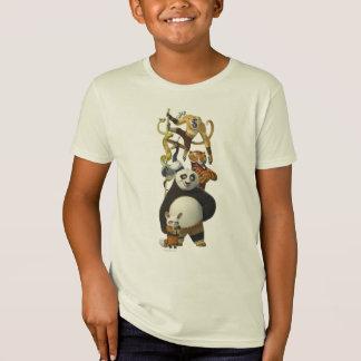 T-Shirt Cinq furieux empilés