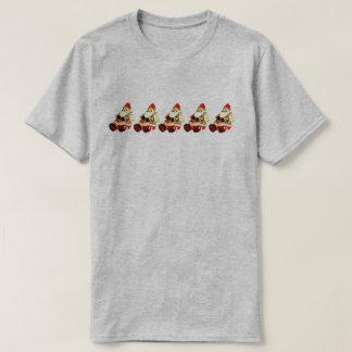 T-shirt Cinq petites Santa !