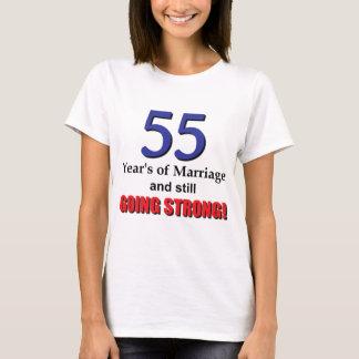 T-shirt cinquante-cinquième Anniversaire de mariage