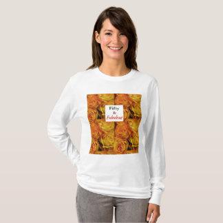 T-shirt Cinquante et collection fabuleuse d'anniversaire