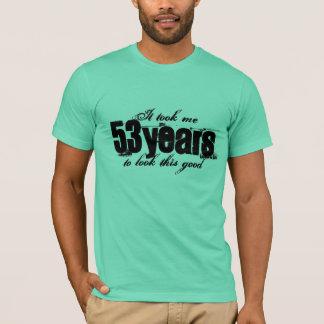 T-shirt cinquante-troisième La chemise   d'anniversaire