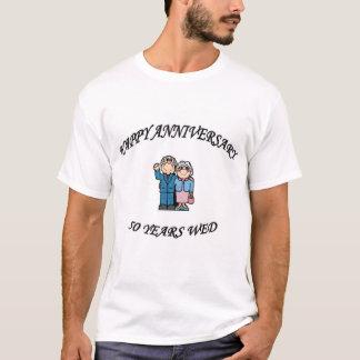 T-shirt cinquantième. ANNIVERSAIRE