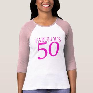 T-shirt cinquantième chemise fabuleuse de l'anniversaire
