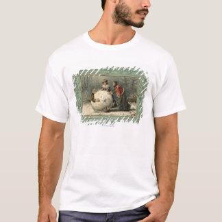 T-shirt Circa 1879 : Homme de petit pain de deux femmes