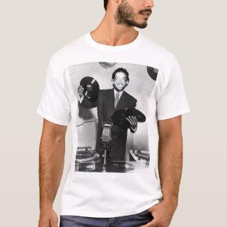 T-shirt Cire chaude de rotations de Frank