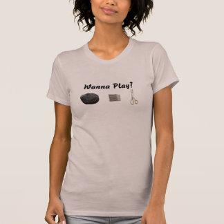 T-shirt Ciseaux de papier PTP de roche