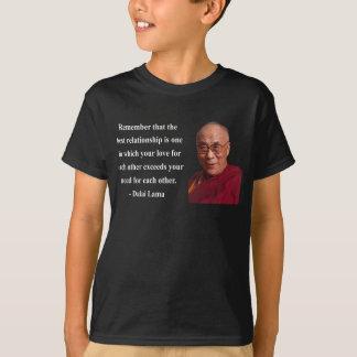 T-shirt citation 11b de Dalaï lama