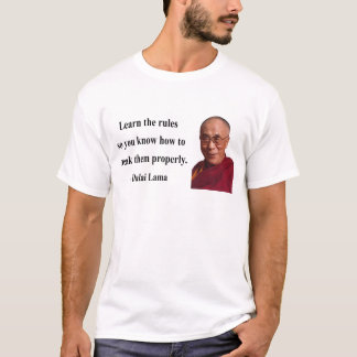 T-shirt citation 2b de Dalaï lama