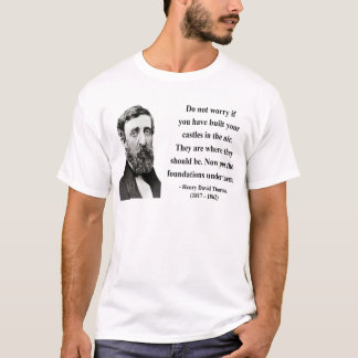T-shirt Citation 2b de Thoreau