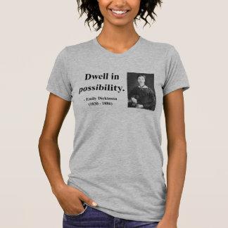 T-shirt Citation 2b d'Emily Dickinson