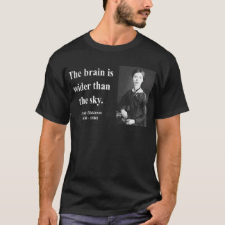 T-shirt Citation 3b d'Emily Dickinson
