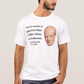 T-shirt Citation 5b de Winston Churchill