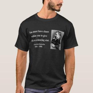 T-shirt Citation 6b de Nietzsche