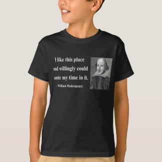 T-shirt Citation 6b de Shakespeare