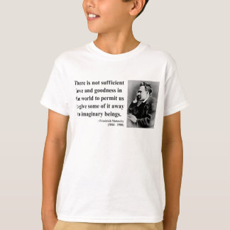 T-shirt Citation 7b de Nietzsche