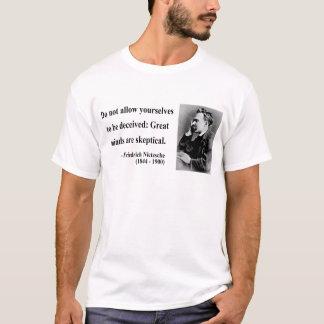 T-shirt Citation 9b de Nietzsche