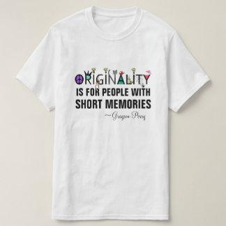 T-shirt Citation BRITANNIQUE de Grayson Perry d'artiste de
