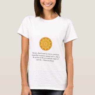 T-shirt Citation d'ART de Francisco Goya
